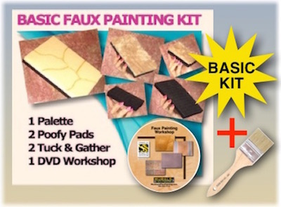 Basic PLUS Faux Painting Kit