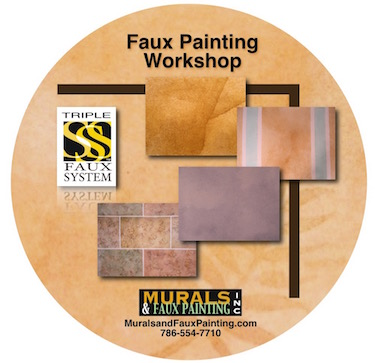 Faux Painting Workshop DVD