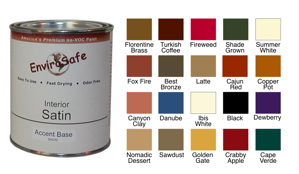 ZERO VOC Acrylic Interior Satin Paint