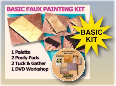 Basic Faux Painting DVD Kit