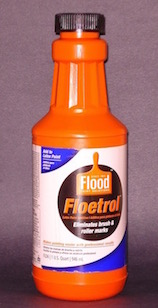 Floetrol paint additive in a quart size that can be used as a faux painting glaze.