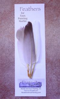 Feathers for Faux Marble Veining